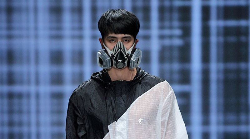 Модная коллекция респираторов для китайской молодежи