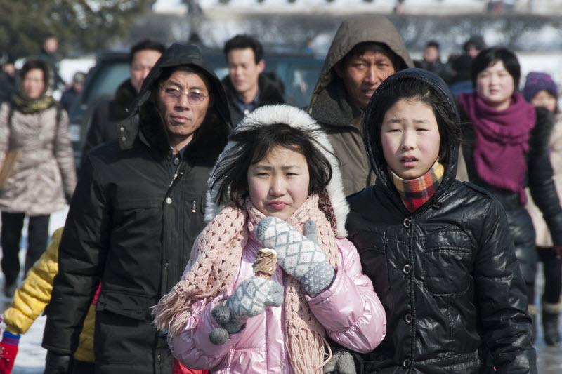 Редкие фото Северной Кореи