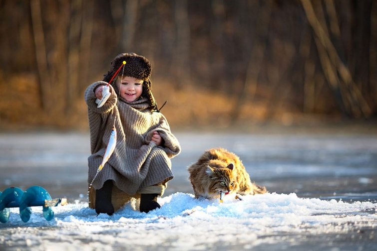 Прекрасное детство в разных странах
