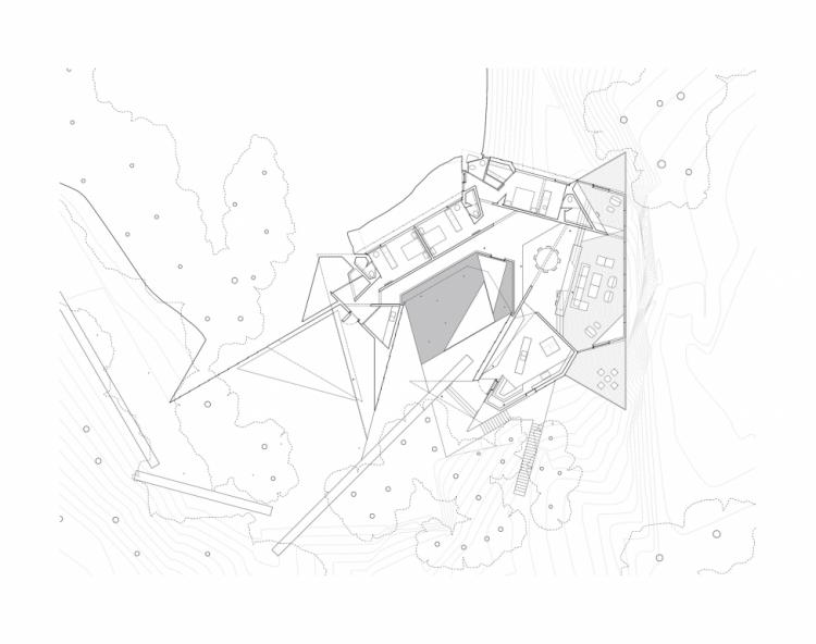 Дом на краю обрыва