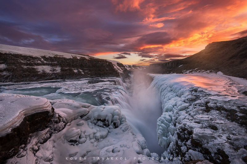 Замерзшие водопады со всего мира