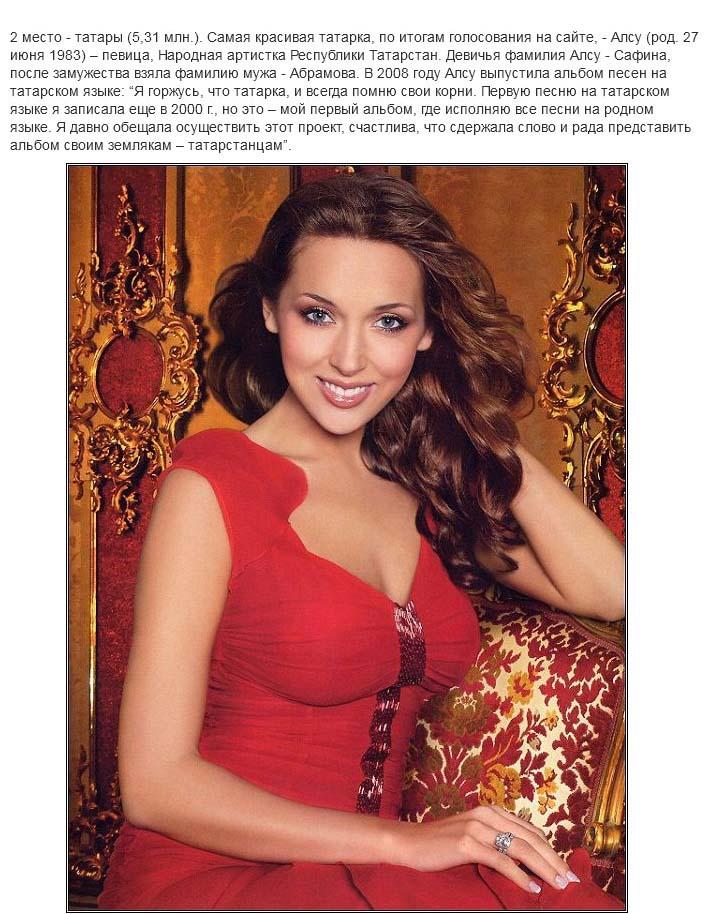 Самые красивые представительницы из народов России