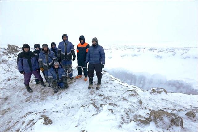 Загадочные кратеры на полуострове Ямал