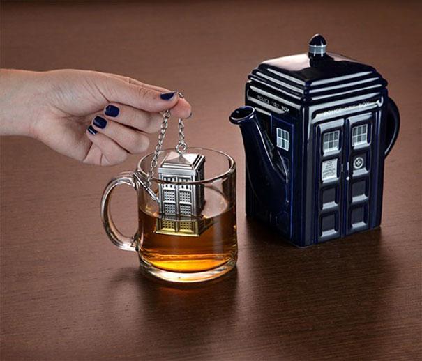Дизайнерские приспособления для веселого чаепития