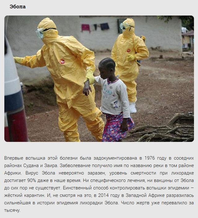 Страшные эпидемии человечества