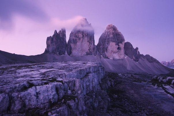 Доломитовые Альпы фотографа Jrme Berbigier