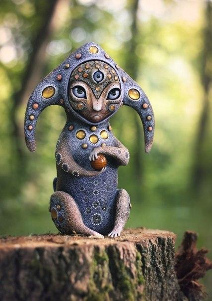 Необычные игрушки от Марьяны Копыловой