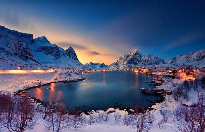 20 восхитительных мест, где стоит побывать зимой