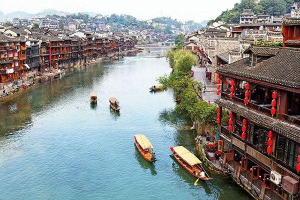 Китайский город Фэнхуан