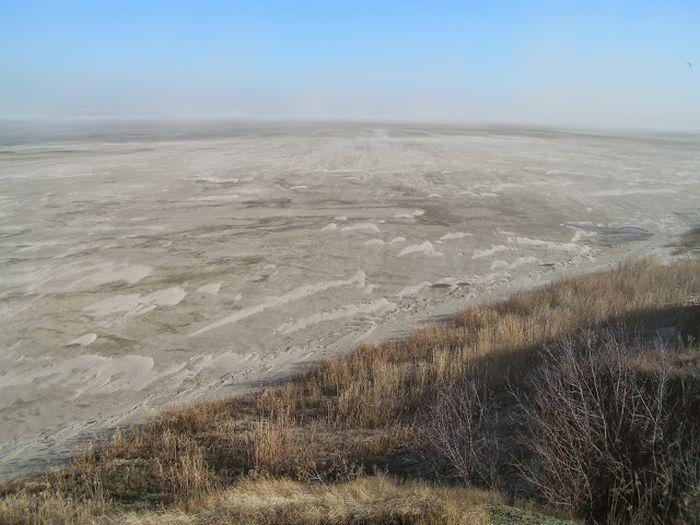 Природное явление - Ветровой сгон