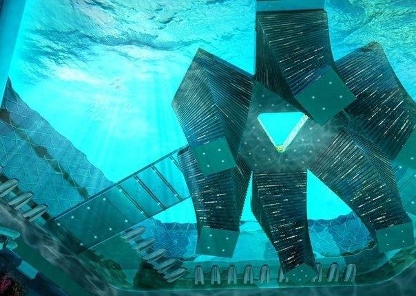 Проект плавучего города Атлантис