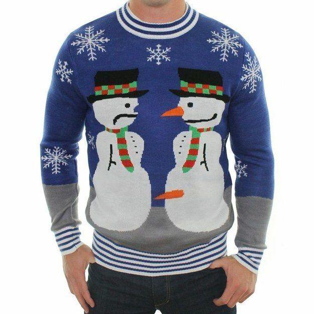 Необычные рождественские свитера