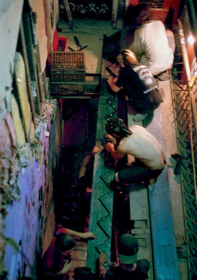 Американские сквоттеры 90-х годов прошлого века