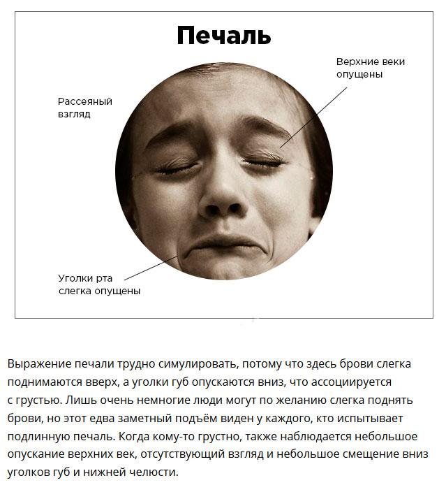 Эмоциональное состояние по выражению лица