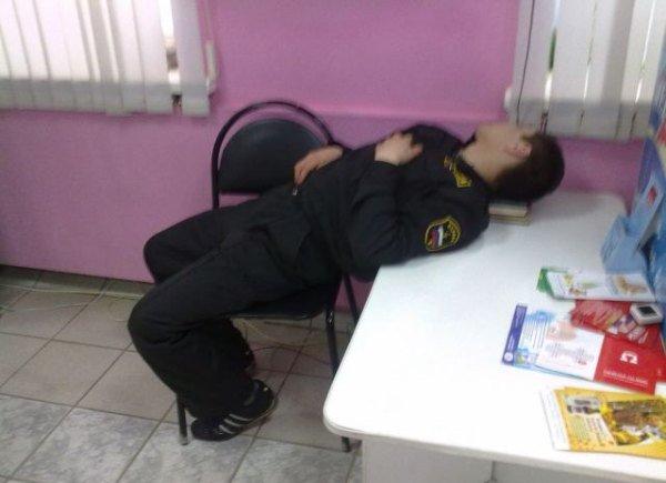 Когда сильно хочется спать