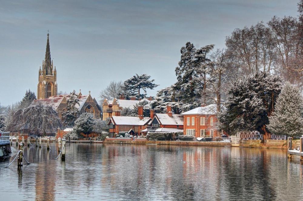 Картинки города мира зимой