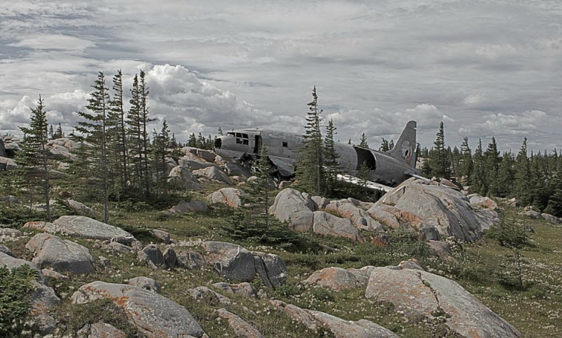 Места крушений самолётов, в которых все выжили