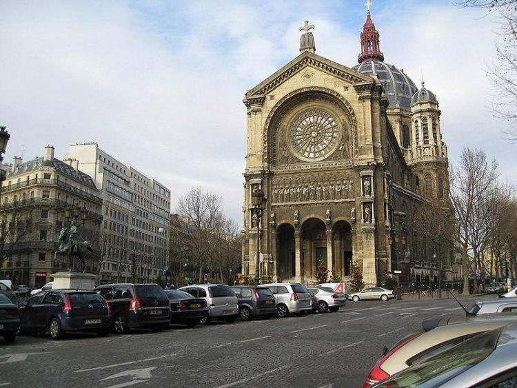 Париж в 1900-ых годах и сейчас