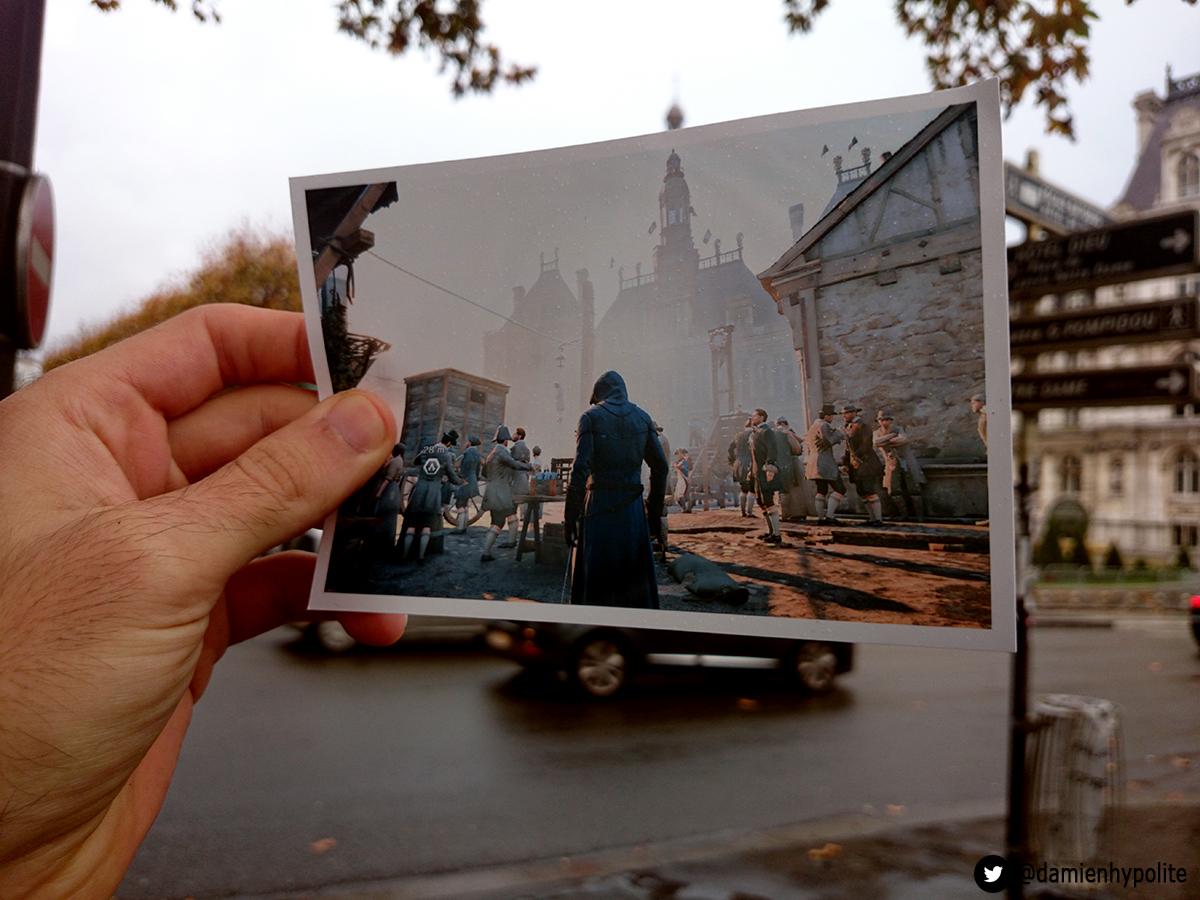 Assassin's Creed и Париж