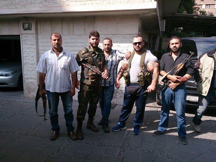 Фото со страницы Facebook сирийского головореза