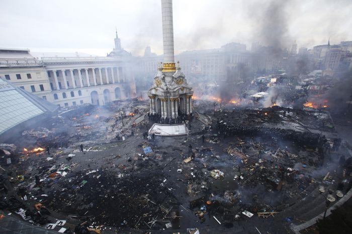 Запоминающиеся фотографии из новостных репортажей 2014