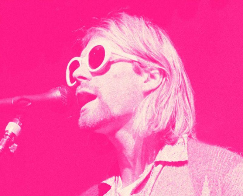 Фотосет Курта Кобейна и Nirvana