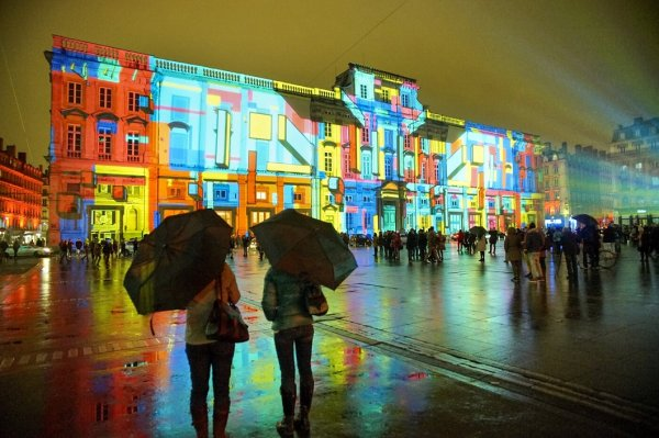 Фестиваль света в Лионе