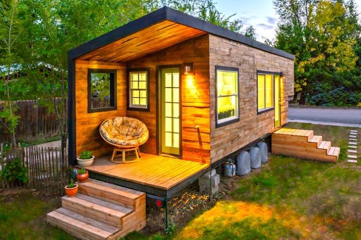 Миниатюрный домик архитектора