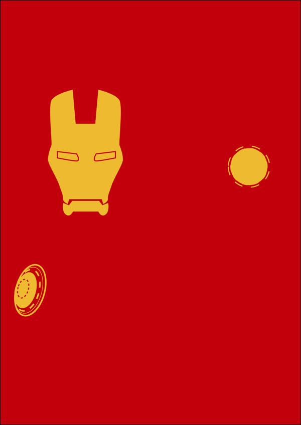 Минималистичные герои комиксов