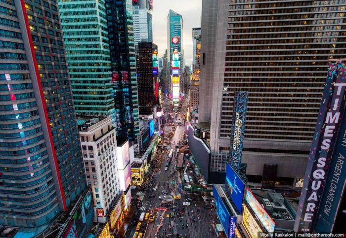 Прогулка по высотным зданиям Нью-Йорка