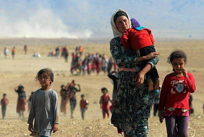 Интересные фотографии репортеров Reuters за 2014 год