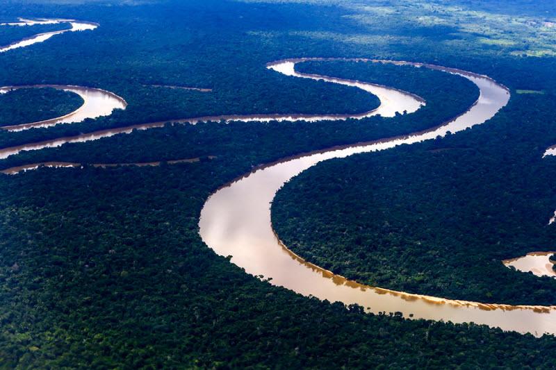 Красота нашей удивительной планеты с воздуха