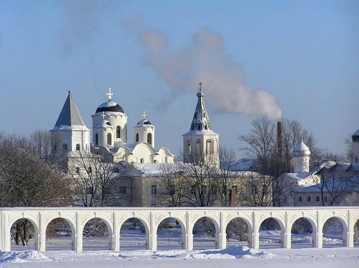 Новогоднее путешествие по городам России