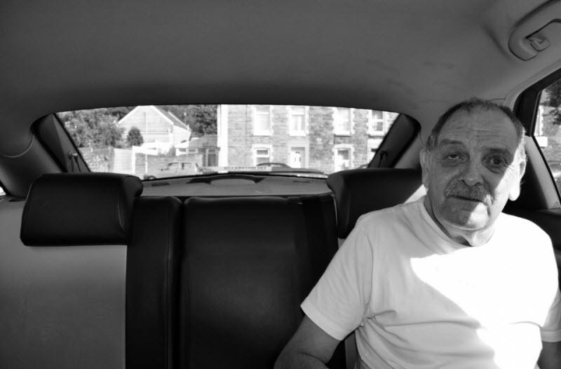 Пассажиры таксиста в Южном Уэльсе