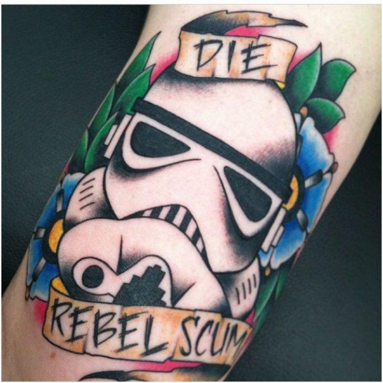 Татуировки фанатов Звездных войн