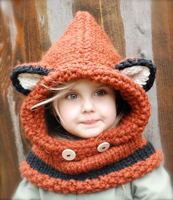 Веселые и необычные зимние шапки