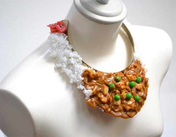 Японские украшения в виде еды