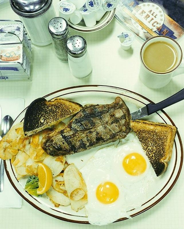 Завтрак путешествующего фотографа Стефана Шахера