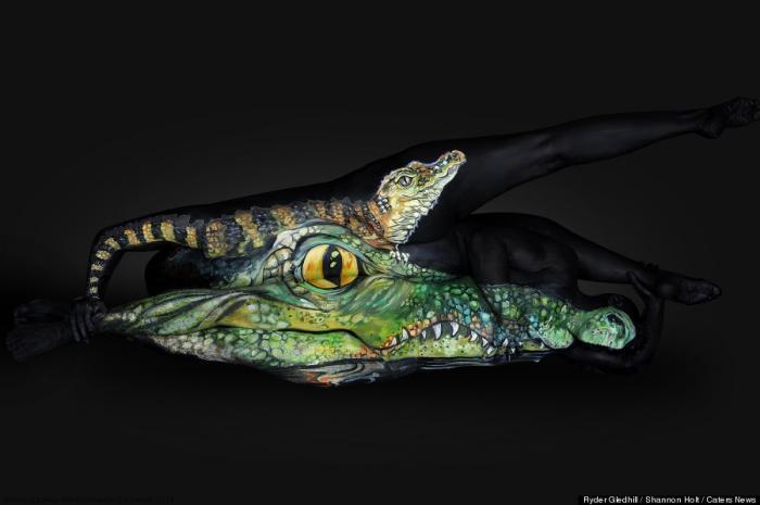 Бодиарт - Дикая природа Флориды от Шеннон Холт