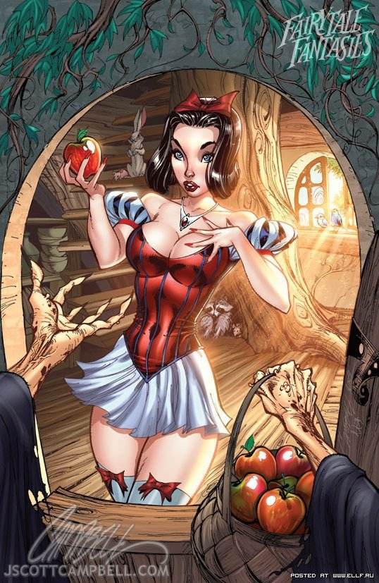 Эротичные рисунки героинь диснеевских сказок