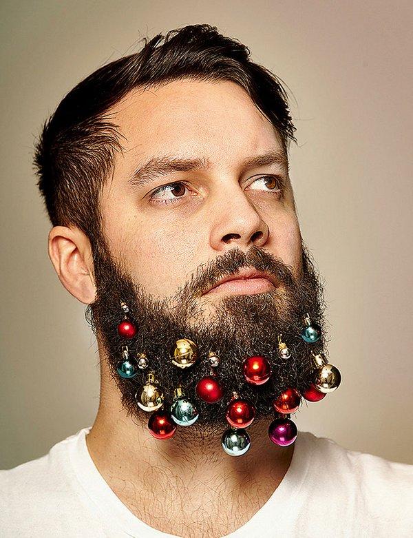 Наряд для бороды на Новый год