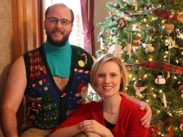 Странные наряды на Новый год