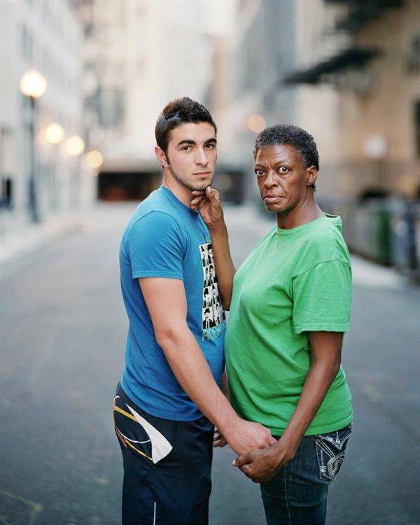 Касаясь незнакомцев - фотопроект Ричарда Ренальди