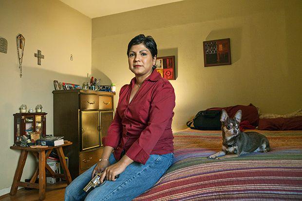 Техасские женщины, которые умеют обращаться с оружием