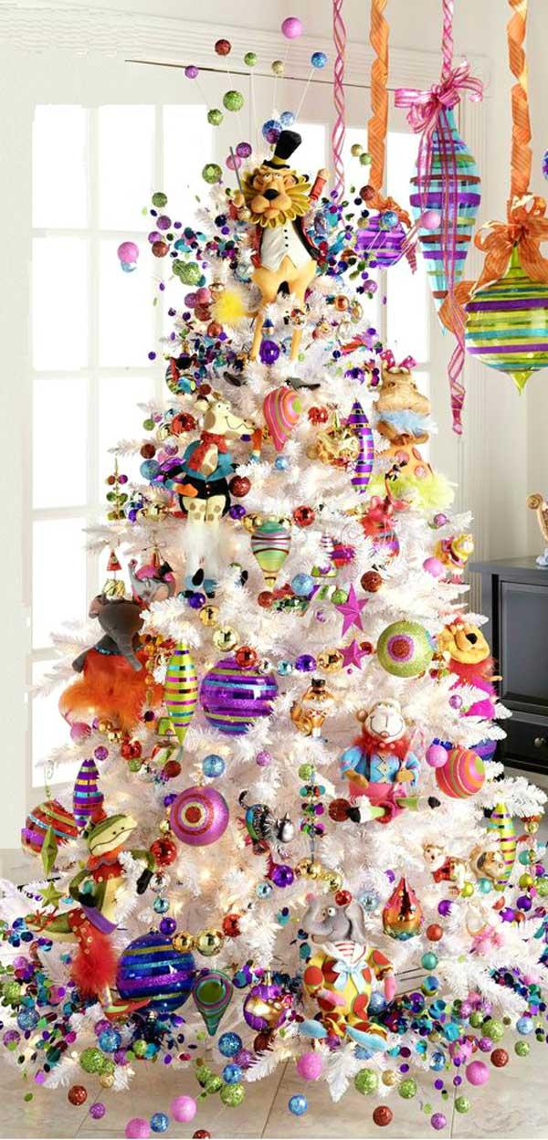 Как творчески украсить новогоднюю елку