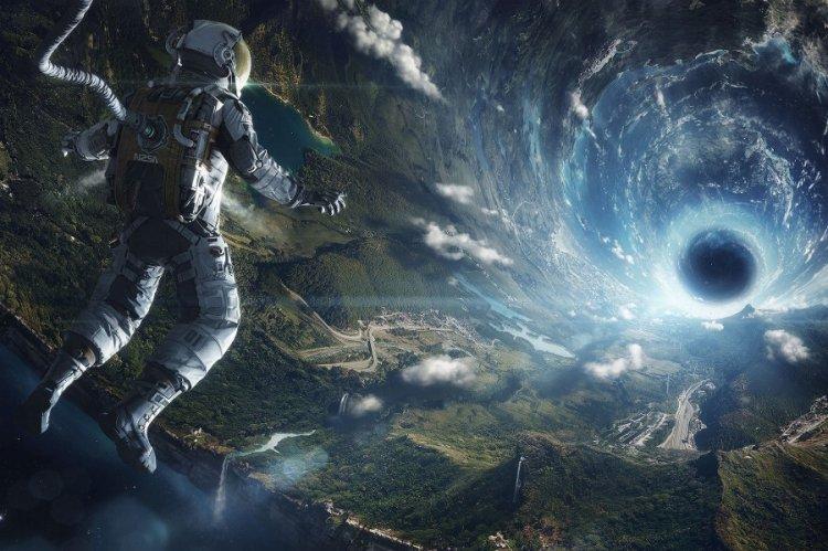Картины космоса и неизведанных планет