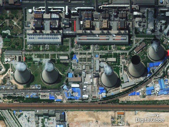 Лучшие спутниковые снимки DigitalGlobe 2014