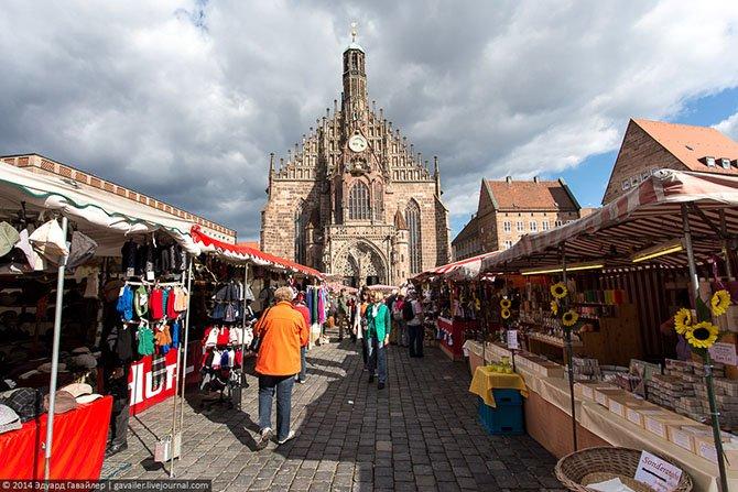 Нюрнберг – основа страны франков