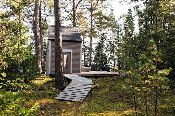 Загородный дом площадью 9 квадратных метров
