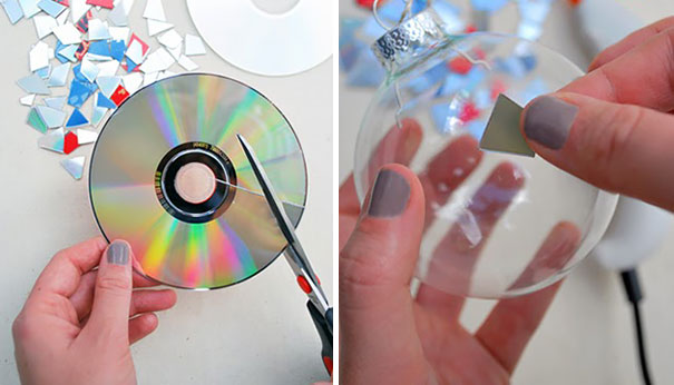 Креативное использование старых CD